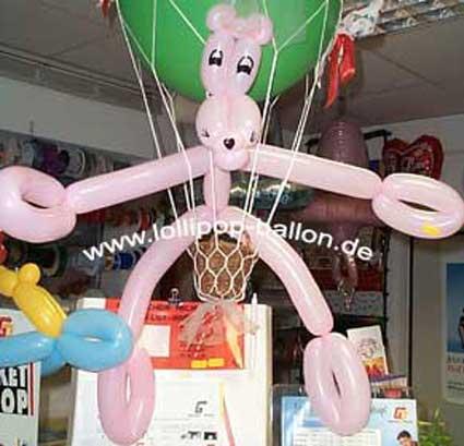 fesselballon deko für hochzeit